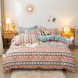 Bohemian Style Bedding Set (Without Filler)